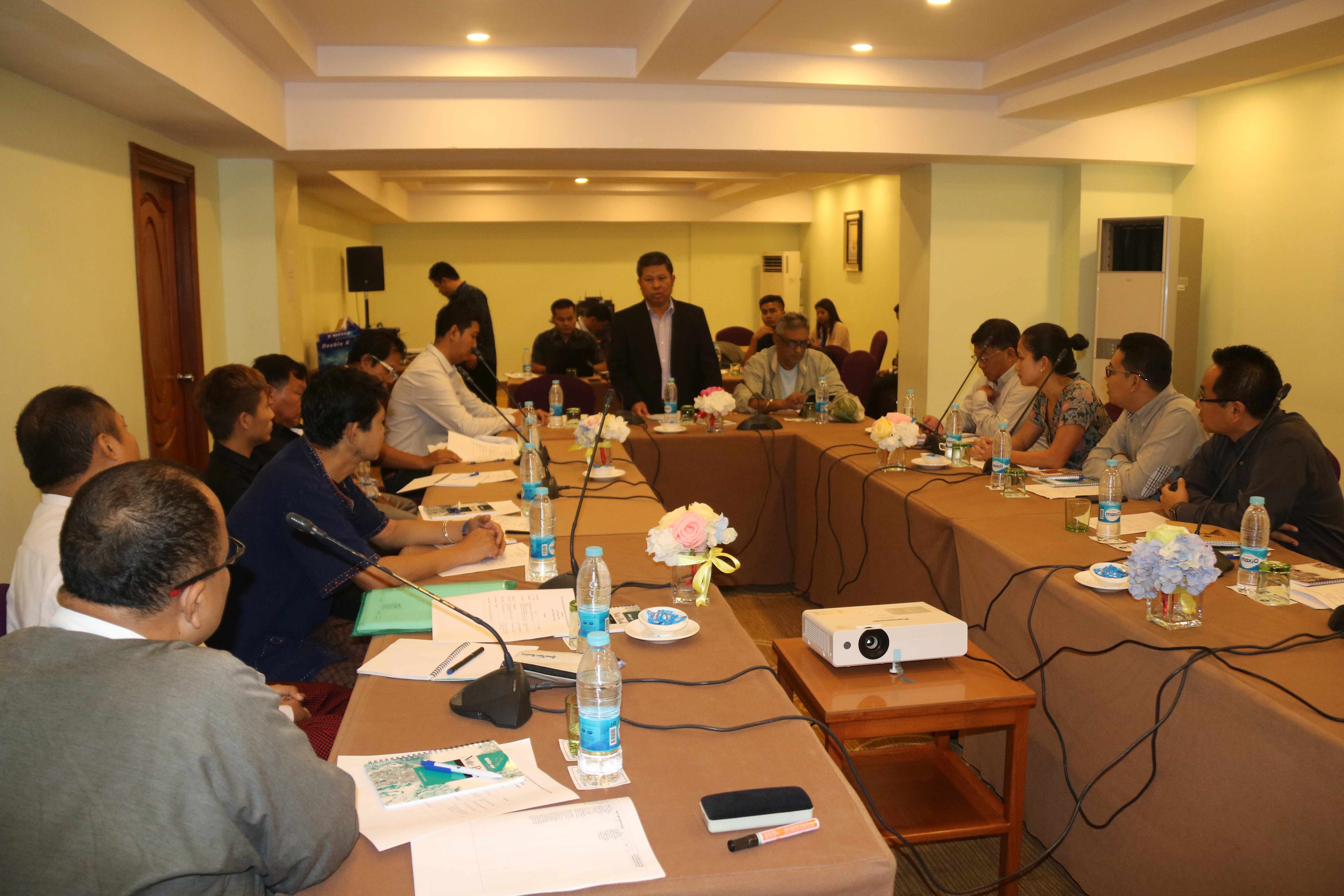NCA-S EAO's L&E Sector Working Committee holds a Review Meeting