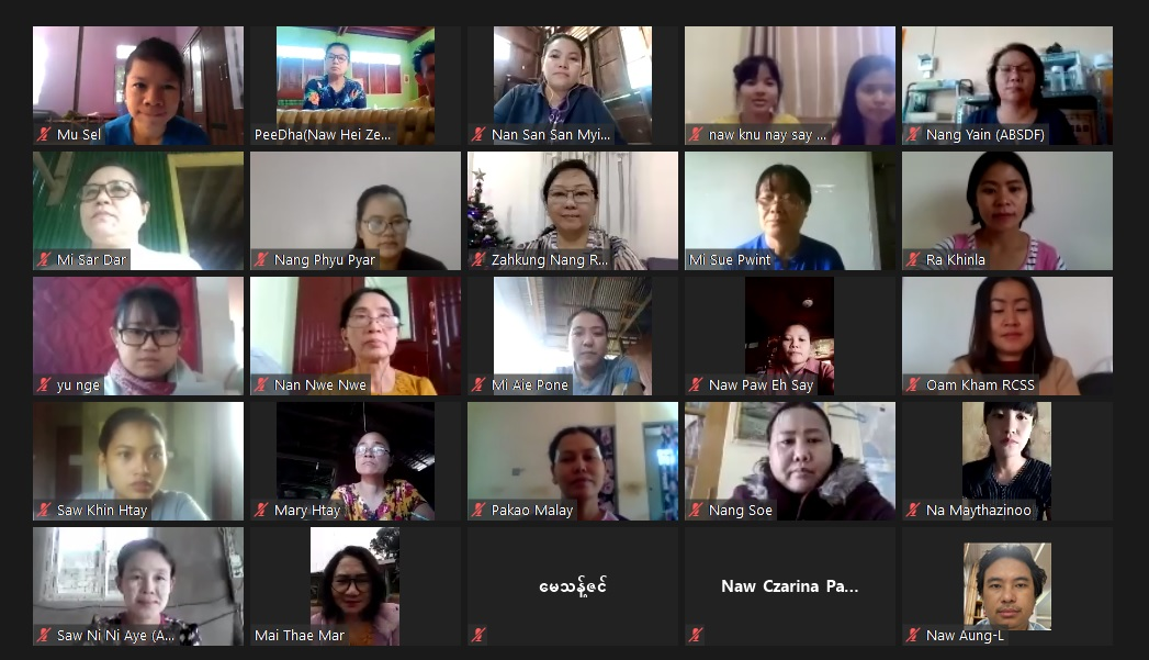 WLPP's Policy Development Workshop held through Video Conference today