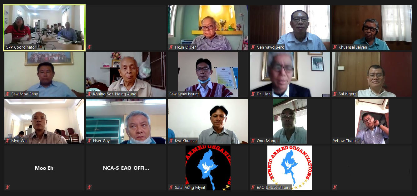 Peace Process Steering Team (PPST) Meeting (10/ 2020) successfully ends this evening