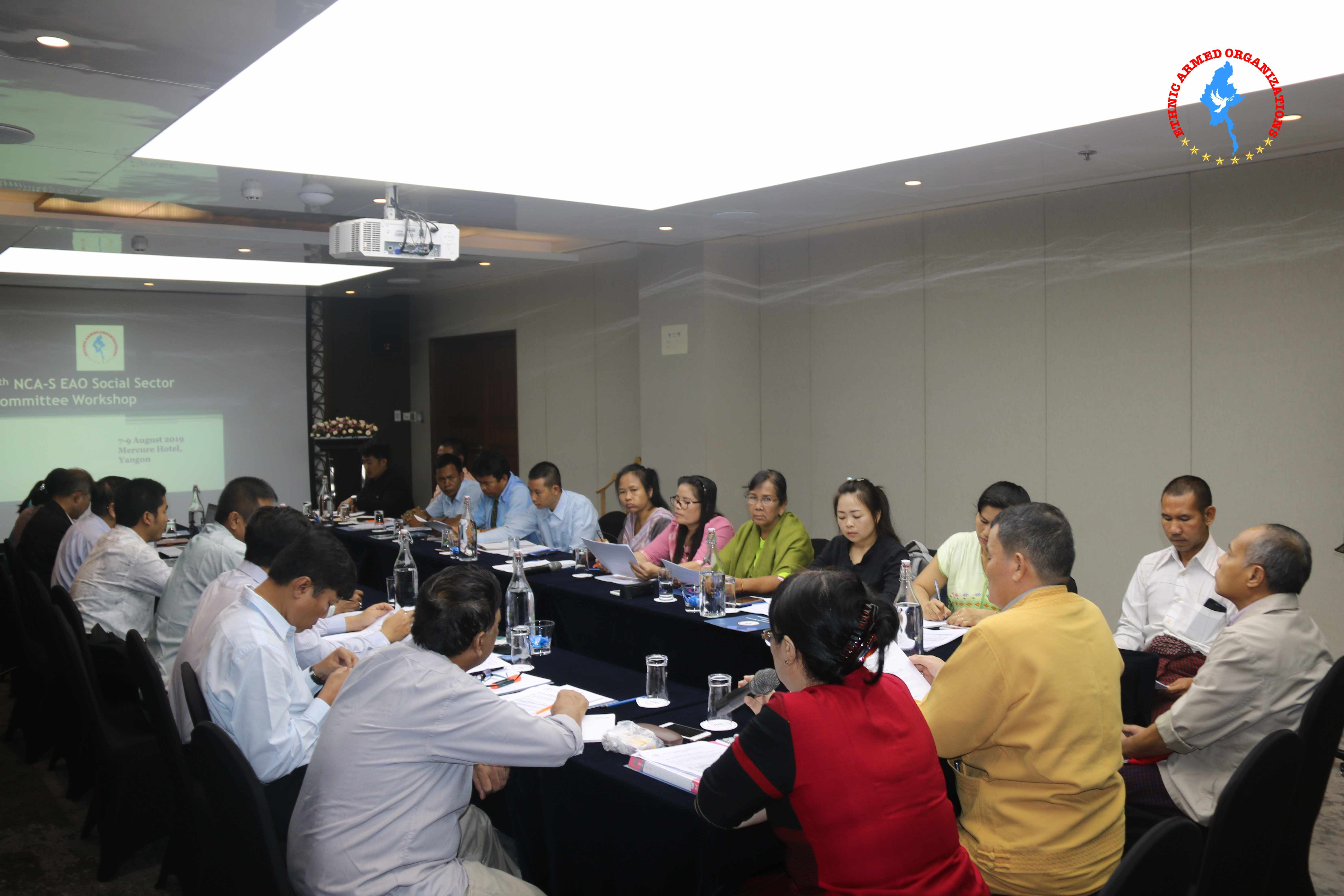 5th NCA-S EAO Social Sector Workshop held in Yangon
