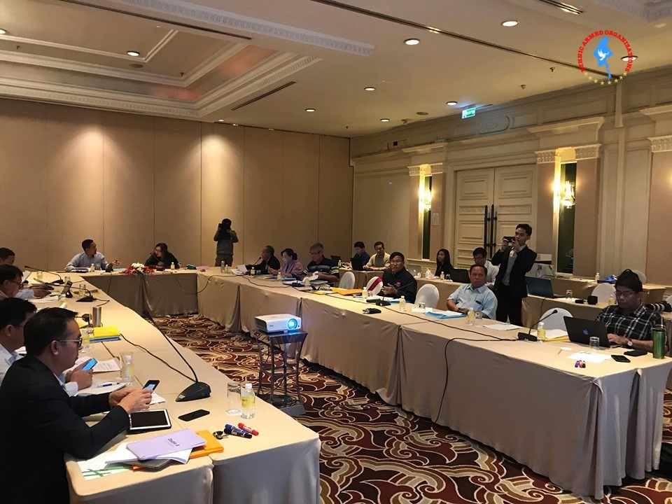 4th NCA-S EAO Working Groups' Meeting is being held in Chiang Mai