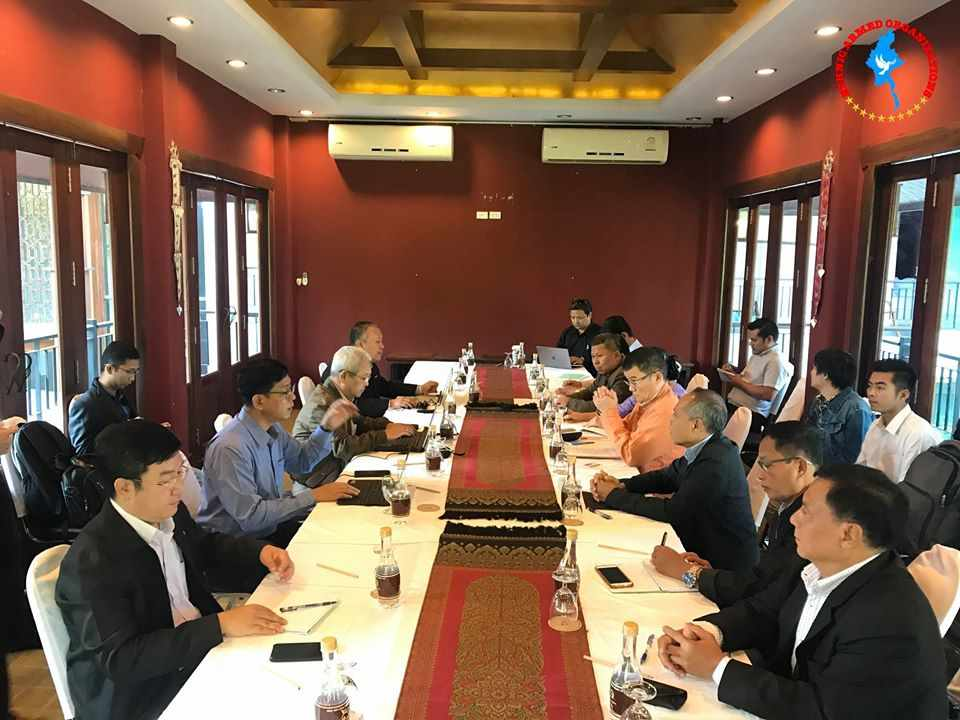 Peace Commission meets NCA-S EAO in Chiang Mai, Thailand today