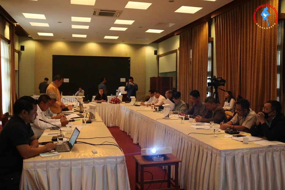 30th NCA-S EAO UPDJC meeting starts in Nay Pyi Taw this morning