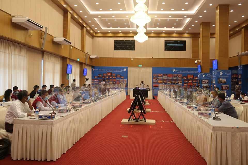 Preparatory Meeting for JICM held in NRPC, Nay Pyi Taw