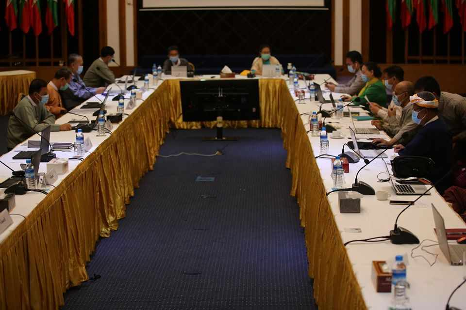 4th Negotiation Meeting between Government and NCA-S EAO held in NRPC, Yangon