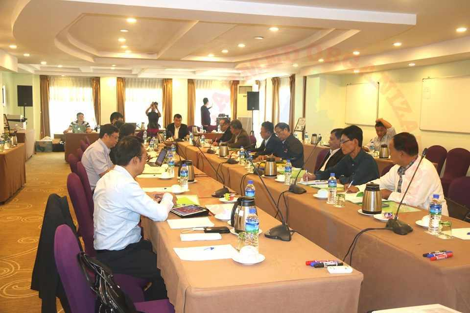 NCA-S EAO Coordination Team Meeting held in Yangon