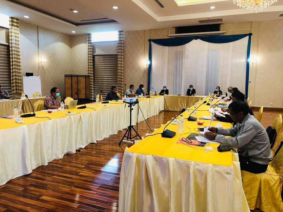 NCA-S EAO holds 16th Framework Agreement on NCA Implementation Negotiation Working Group Meeting in Nay Pyi Taw