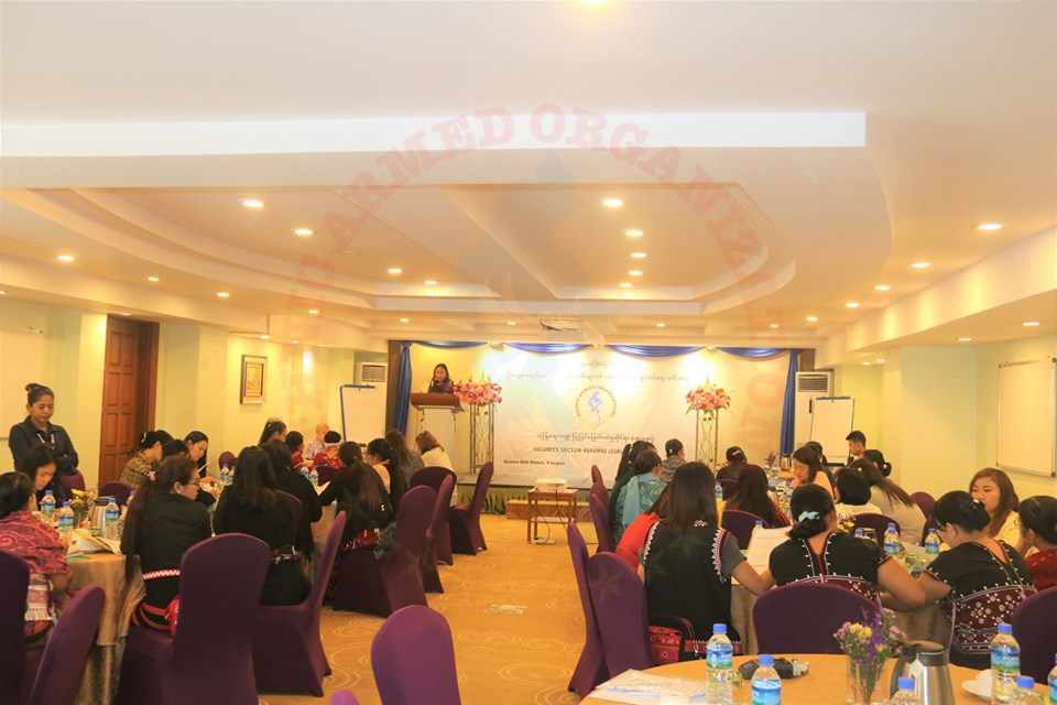 5th WLPP Workshop regarding Security Sector Reform, being held in Yangon Today
